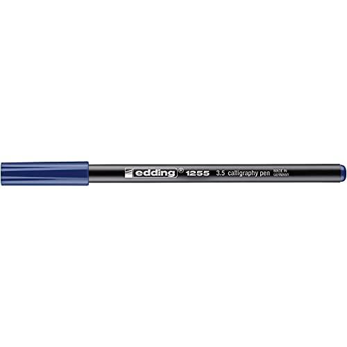 edding Kalligrafie-Stift edding 1255 calligraphy pen, 3,5 mm, stahlblau