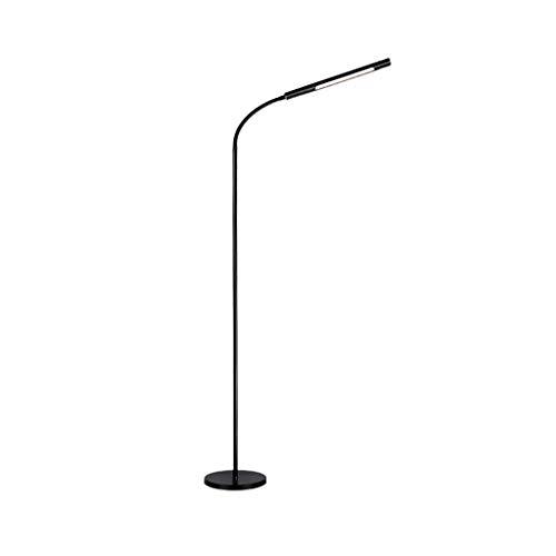 JYXPOWER Lampara de pie,Salon Lámpara de pie LED Dormitorio Sala de Estar Lámpara de Lectura Control de Ahorro de energía Vertical Luz cálida Ajustable 12W Lámparas