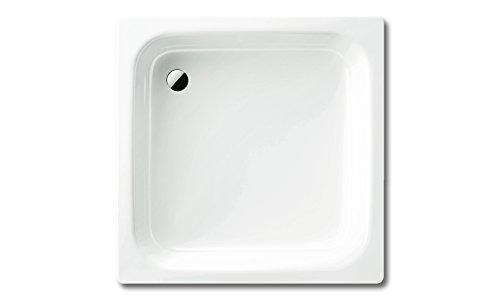 Kaldewei Sanidusch 395 Stahl-Duschwanne 80 x 80 x 14 cm, Weiß