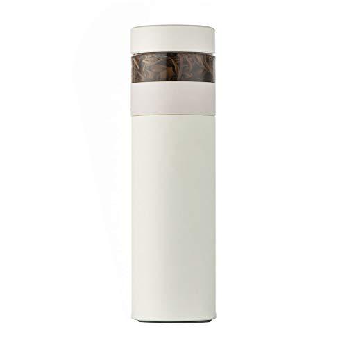 Shengyang, Tea Infuser Botella Thermoses Botella de Agua, Té Separación de Agua Separación Filtro Taza de Agua, Té de viaje portátil, Tela de vacío de café Thermoses Copa, Anti-Collision