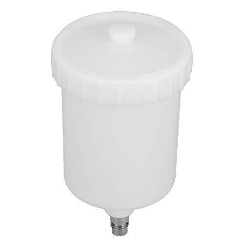 Omabeta Airbrush Pot Umweltfreundlicher Paint Spray Pot Paint Cup für Sprühfarbe mit Edelstahl-Gewindeanschluss