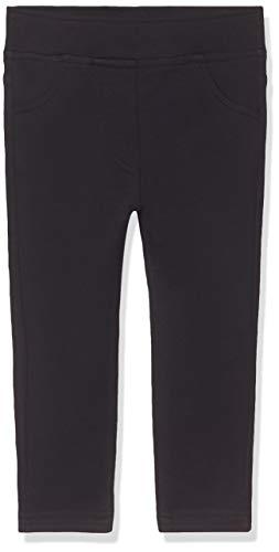United Colors of Benetton Mädchen Jeggings Stretch Fuseaux Jeans, Schwarz (Nero 100), 82 (Herstellergröße: 1Y)