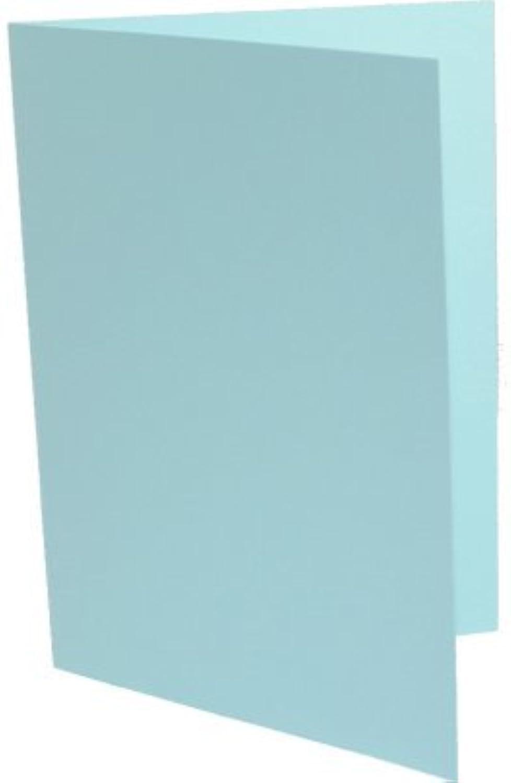 K&L 100 Hochzeitskarten DIN Lang ( DL ) mittelblau B003KVUFKQ   | Qualifizierte Herstellung