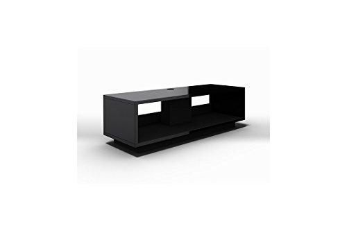 Schnepel Varic L 2.0 TV-Möbel offen Schwarz matt
