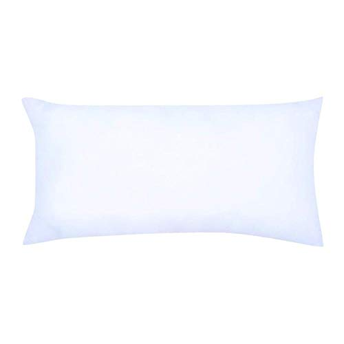 Fronha para Travesseiro de Corpo Soft Touch Branca 135x50cm