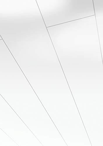 Parador Handmuster Wand & Decke Style - Arktisweiß Hochglanz Dekor