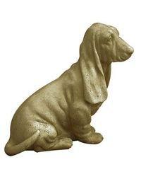 Vieille Pierre CH09 Basset Statue