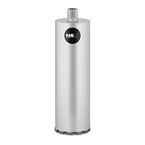 MSW MSW-DCD-450/152-PRO Diamond Core Drill Bit 450 mm x 152 mm Shank G1 Thread 1 ??'' Steel With Diamond Tip (Steel with Diamond Tip, Diameter 152mm, Drill Height 450mm)
