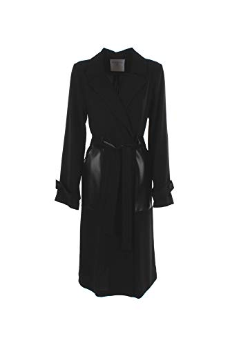 BEATRICE B Trench Donna 42 Nero 20fe2255gala 1/20 Primavera Estate 2020