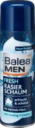 Balea MEN Rasierschaum fresh, 1 x 300 ml