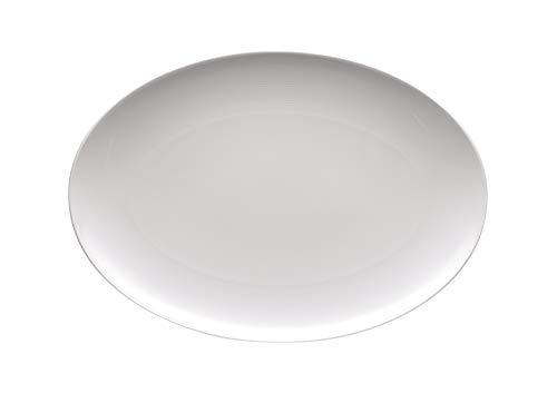 Thomas Loft Platte Oval, 40 cm, Weiß