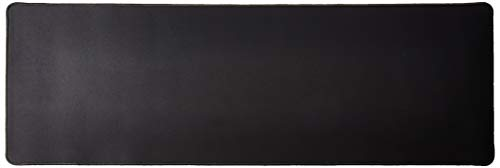 Monoprice 133819 Extra Wide Length Mouse Pad - Black | 36 x 12 inches, 3mm Thick - Workstream Collection