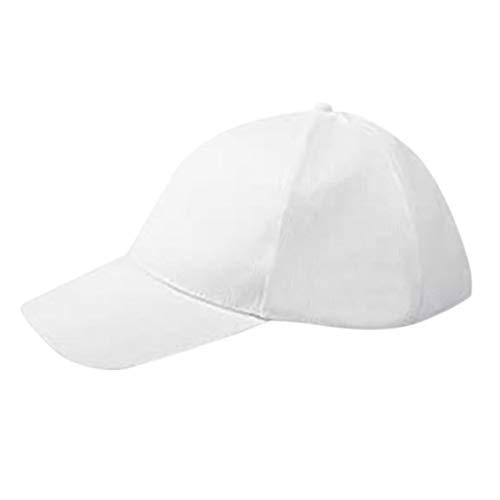 Monland Gorra de BéIsbol LED Luminosa 7 Colores Sombrero Brillante Negro Unisex DJ LED Light Up Sombreros Concierto Rave para Hombres Mujeres Ni?Os
