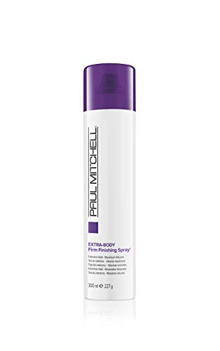 Paul Mitchell Extra-Body Firm Finishing Spray - Volume-Haarspray für Glanz und extra starken Halt, Anti-Frizz Styling-Spray für feines Haar, 300 ml