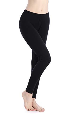 Ferrieswheel Story Women Utra Thin Work Leggings Yoga Soft Stretch Ankle Tights Pants Fitness Gym Black
