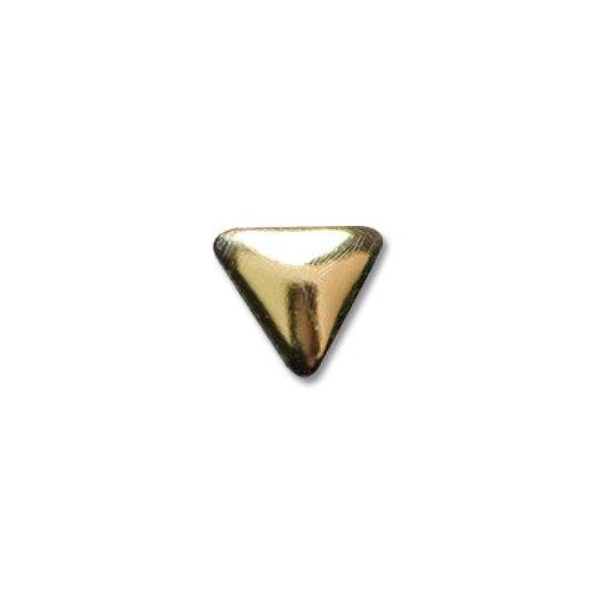 ぼかし適用する精緻化クレア NYトライアングル S ゴールド