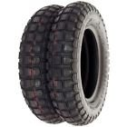 Bridgestone TW Trail Wing Tire Set - Compatible with Honda CT70 1969-1982 - Tires Only