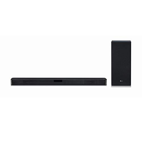 LG SL5Y 2.1 Channel High Resolution Sound Bar w/ DTS Virtual:X, Black