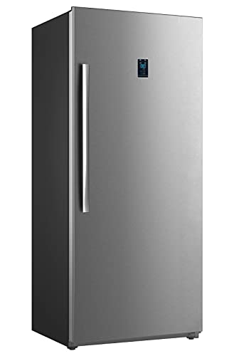 SMETA Convertible Upright Freezer | Deep Refrigerator Frost Free with 21 cu. ft Stand Up | Single Door Digital Control Panel Reach-in Freezer in...