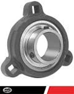 """SATRD202-10 New 5//8/"""" Eccentric Locking Bearing with 3 Bolt Ductile Flange"""