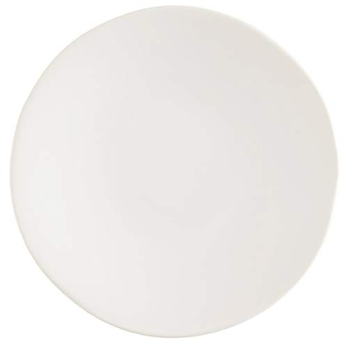 Fortessa Vitraluxe Dinnerware Heirloom Bread & Butter Plate, 6.25-Inch, Set of 4 (Linen)