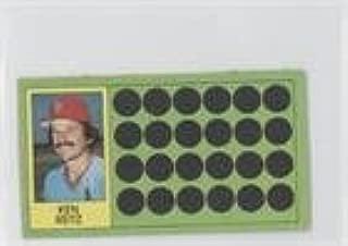 Ken Reitz (Baseball Card) 1981 Topps Baseball Scratch-Off - [Base] - Separated #101.2