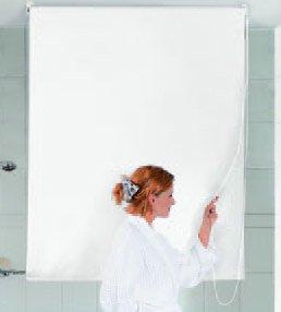 Kleine Wolke Duschrollo weiß 140 x 240 cm