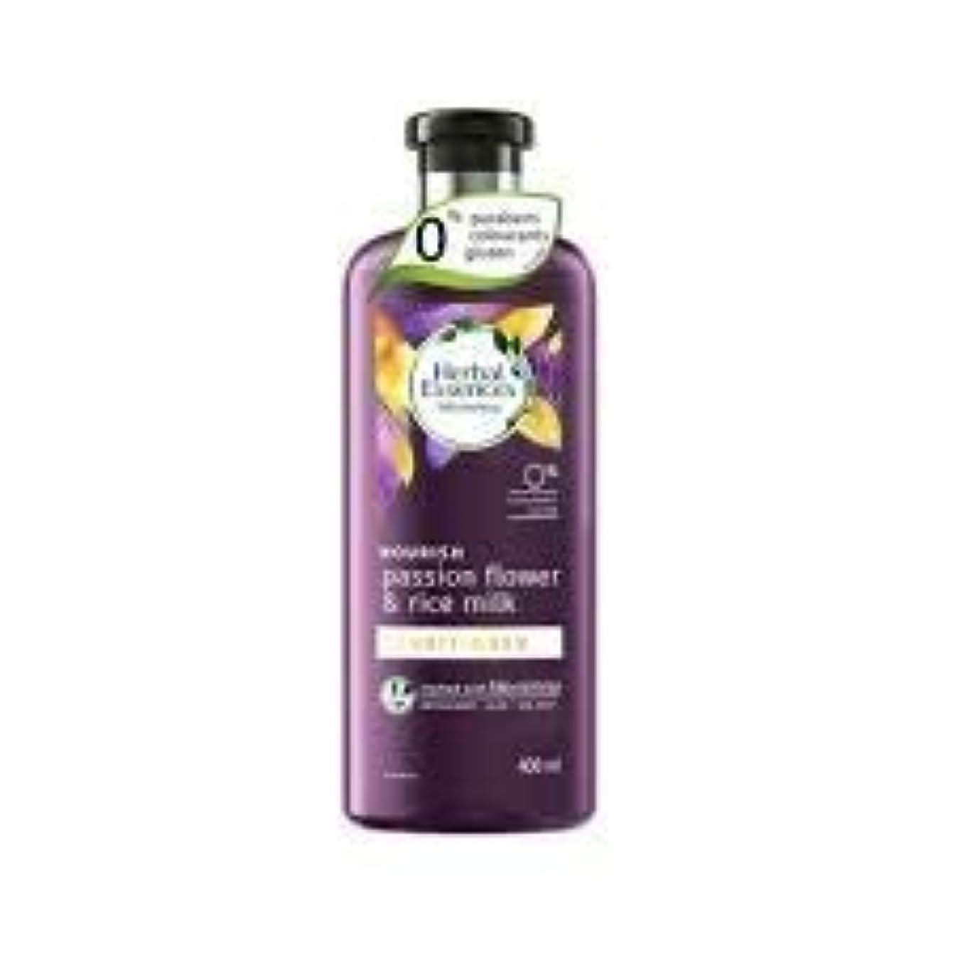 禁止する中絶原油CLAIROL HERBAL ESSENCES 400ミリリットルのパッションフルーツとライスミルク機 - エアコンがセーフカラーで、なめらかな髪に栄養を与えます