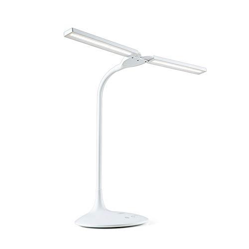 MFWallMirror Bureaulamp, oplaadbaar, led-tafellamp, oogbescherming, bureau, scholier, slaapzaal, bed, extra lange levensduur van de batterij, dubbele gebruiksaanwijzing