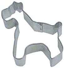 "R&M Schnauzer 3"" Cookie Cutter in Durable, Economical, Tinplated Steel"