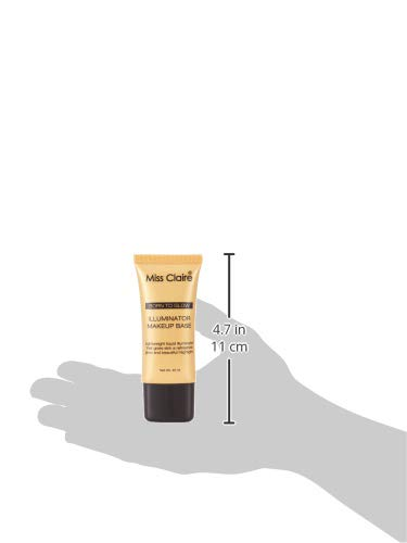 Miss Claire Illuminator Makeup Base 03 Gold, Gold, 30 ml