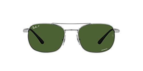 Ray-Ban 0RB3670CH Gafas, 003 / P1, 54 Unisex Adulto