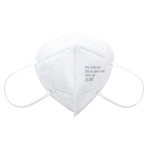 BerkeMed FFP2 Maske CE Zertifiziert Atemschutzmaske (20 Stück)- EU CE 2797 Zertifiziert Resp002