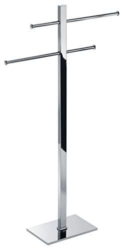Wenko 22716100 Porte-Serviettes Lisboa Acier Inoxydable Chrom/é 70,5 x 21 x 4,5 cm