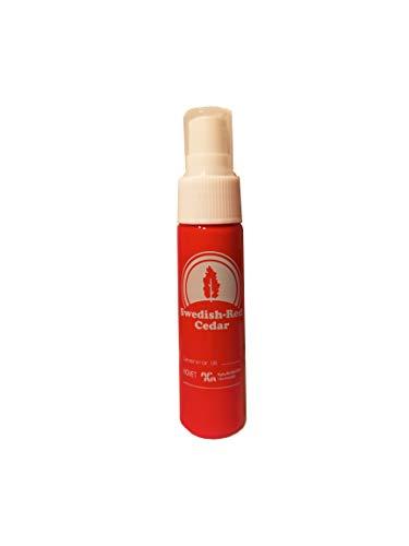 Zanzariera rossa svedese del cedro rosso, zecche e insetti repellente per la famiglia naturale DEET Free Spray