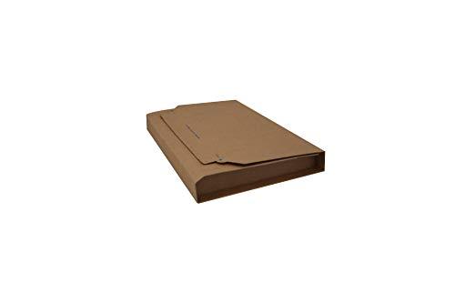 Carte Dozio 7-GF53 Scatole in Cartone con Alette Fustellate per Spedizioni - F.To Int. Mm 230X165X15/80-25 Pz a Conf.