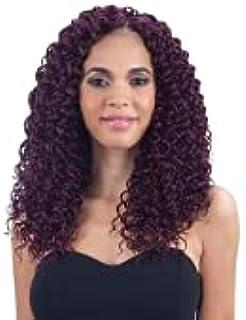 "MULTI PACK DEALS! FreeTress Synthetic Hair Crochet Braids Beach Curl 12"" (4-PACK, 1B)"