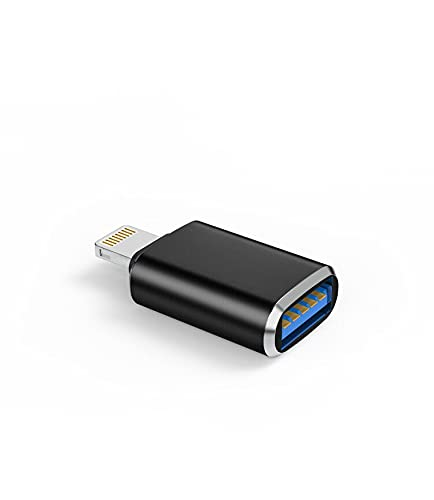Compatible for lightning male to USB 3.0 Female Adapter OTG Cable Compatible with iPhone 11 12pro max mini Xr X xs 8 7 se Plus for apple iPad Air,Camera,Card Reader,Flash Drive,Mouse,Keyboard,Hub,MIDI