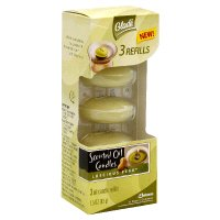 Glade Scented Oil Candles, Luscious Pear ~ 3 Refills
