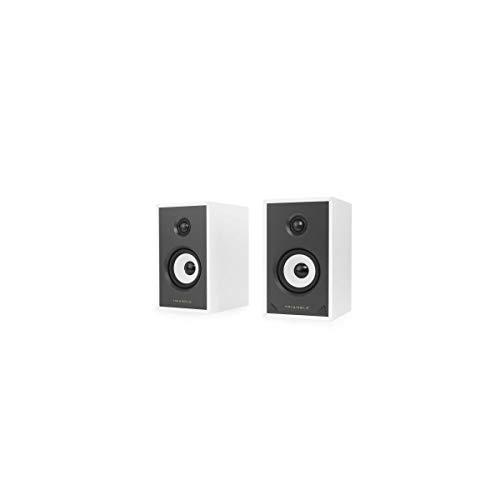 TRIANGLE SENSA SN01A Blanche - Paire Enceintes actives - Bluetooth Aptx - Amplification 2 x 40 Watts