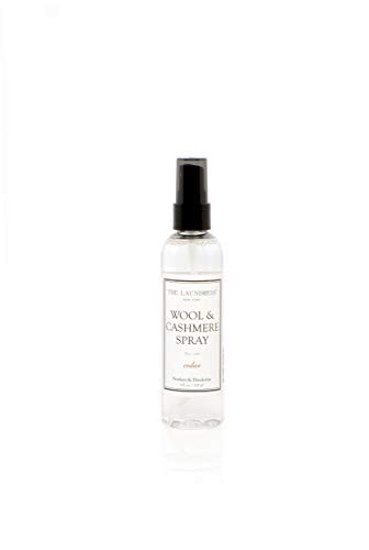 The Laundress - Wool & Cashmere Spray, Cedar Scented, Allergen-Free Fabric Refresher, Non-Toxic Formula, Antibacterial Clothing Spray, 4 fl oz