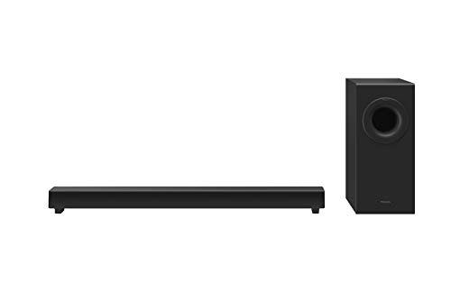 Panasonic SC-HTB490EBK Slim Home Theatre/Cinema Soundbar with Bluetooth, Powerful Bass Performance and wireless subwoofer 240W (120W sub, 120W main unit)