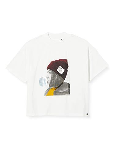 IKKS Junior XR10084 Camiseta, Blanco Hueso, L para Niños
