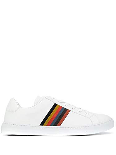 Paul Smith Luxury Fashion Herren M1SHAN01AMOLV01 Weiss Sneakers | Jahreszeit Permanent