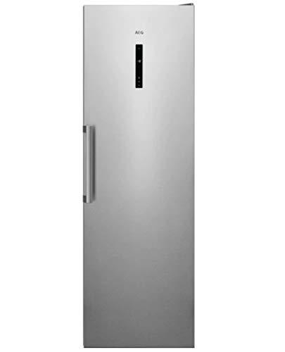 Congelador Vertical 1,86 mts de la Gama Precise Aeg AGB728E3NX, Inox