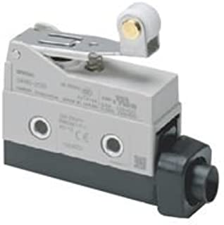 OMRON INDUSTRIAL AUTOMATION D4MC-2020 LIMIT SWITCH, ROLLER LEVER, SPDT