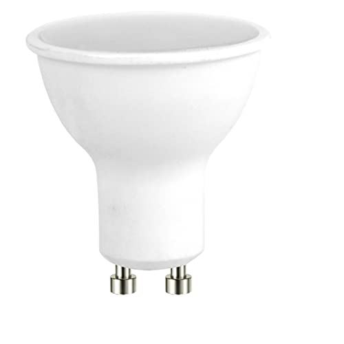 Osram LED Star PAR16 Reflektorlampe, mit GU10-Sockel, nicht dimmbar, Ersetzt 80 Watt, 120° Ausstrahlungswinkel, Kaltweiß - 4000 Kelvin, 10er-Pack