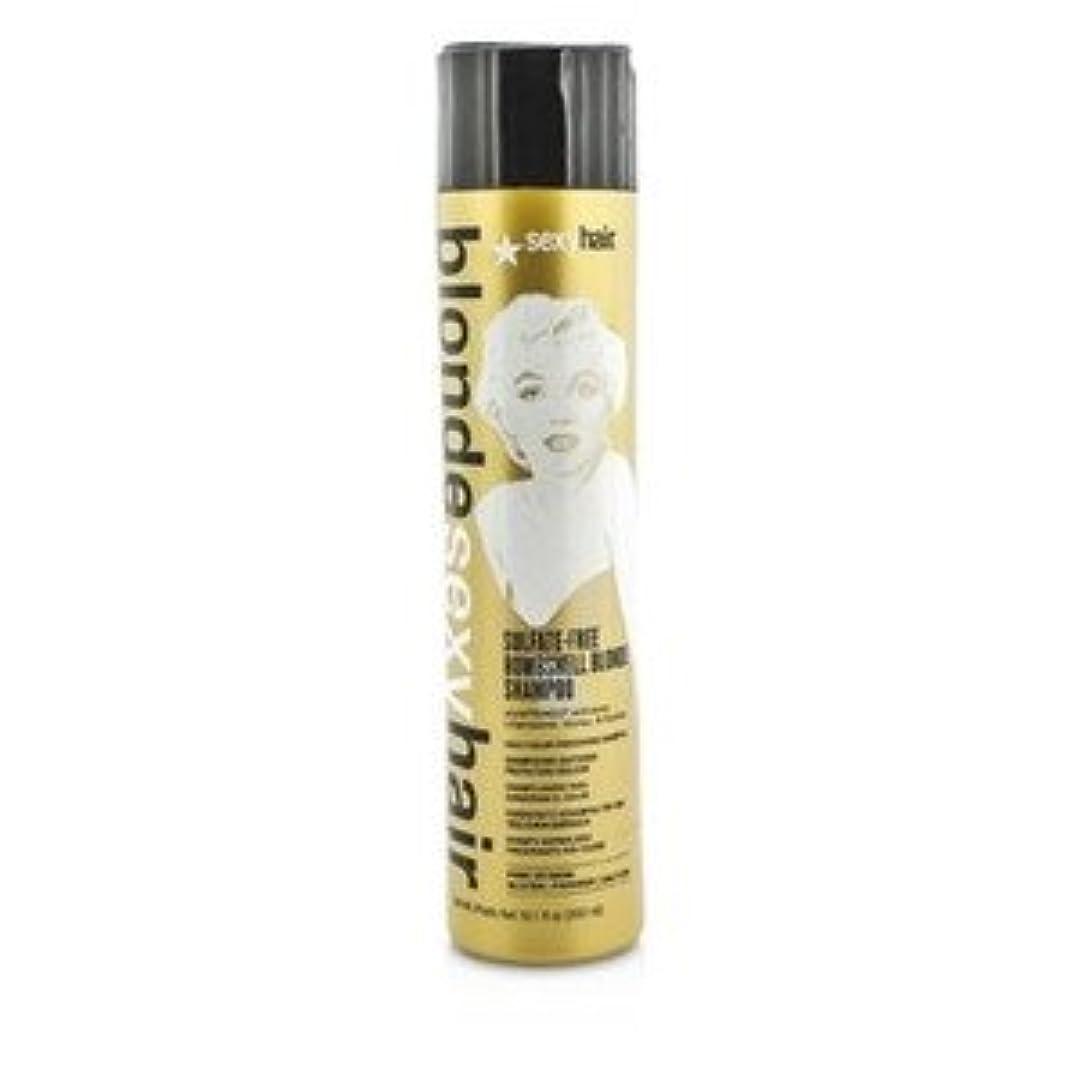 リンス適応起こりやすいSexy Hair ブロンド セクシー ヘア サルフェートフリー ボムシェル ブロンド シャンプー(Daily Color Preserving) 300ml/10.1oz [並行輸入品]