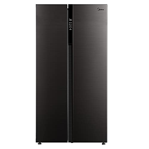 Midea MDRS710FGF28 Side-by-Side Kühl-gefrierkombination / 176,5 cm hoch / 401 kWh/Jahr / 335 L Kühlteil / 197 L Gefrierteil / No Frost / Allaround Cooling