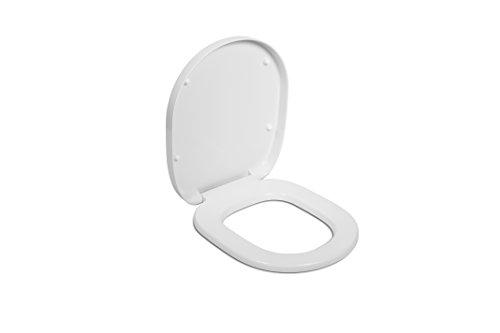 Ideal Standard E712801 WC-Sitz Connect mit Deckel Scharniere aus Edelstahl, weiß